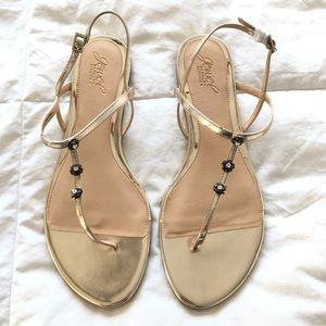 Badgley-Mischka Flat Sandals NEW!